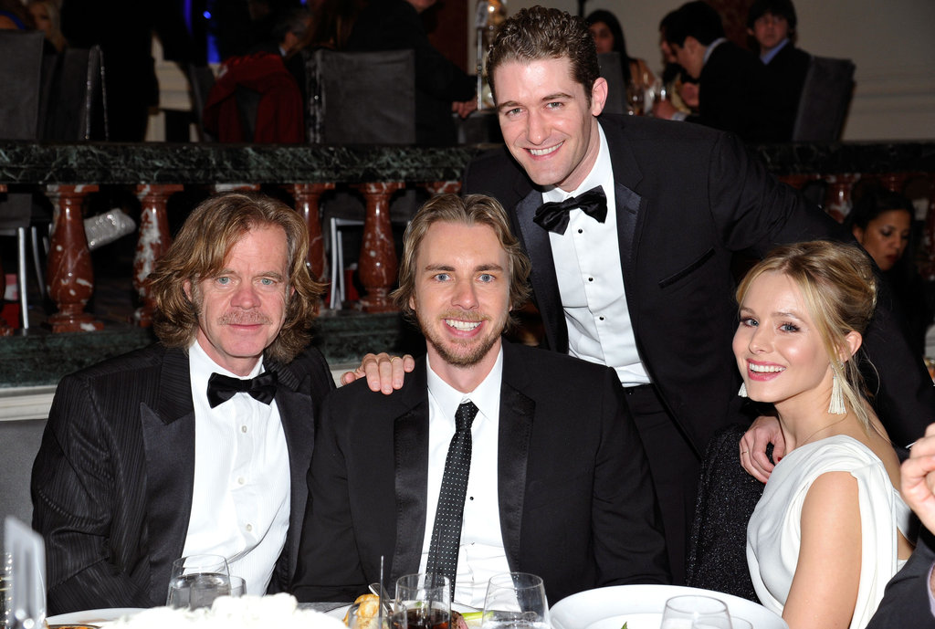 William H. Macy and Matthew Morrison hung out with Dax Shepard and Kristen Bell in LA.