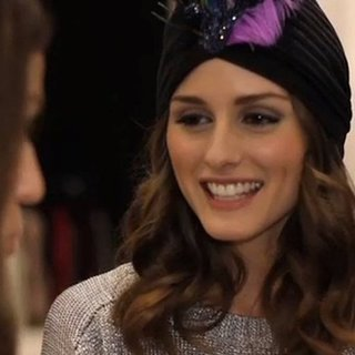 Olivia Palermo Talks Party Season Style and New Year's Eve Outfits for Topshop in NYC!