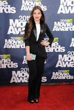 In a rockin' tuxedo suit at the 2011 MTV Movie Awards.