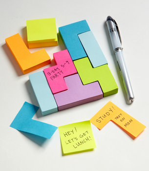 Tetris Style Sticky Notes ($14)
