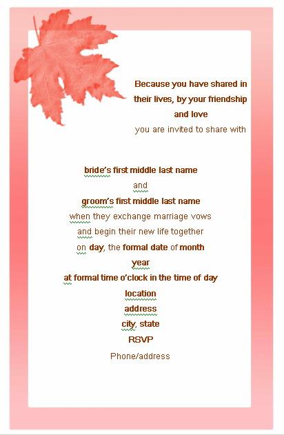 wedding invitations templates idea