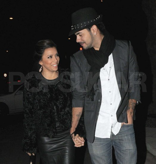 Eva and Eduardo Share a Look of Love in London