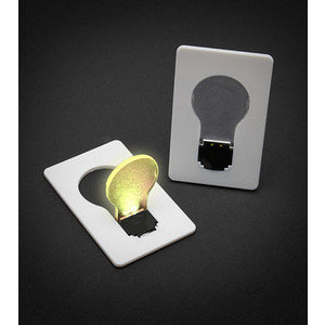 Credit Card Lightbulb ($5)