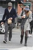 Blake Lively and Ryan Reynolds made a morning coffee run together.