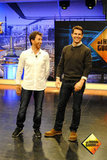 Tom Cruise was up for some fun and games with the show's host.