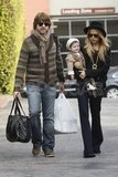 Rachel Zoe and Rodger Berman took Skyler out in LA.