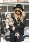Rachel Zoe and Skyler Berman both wore hats in LA.