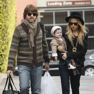 Rachel Zoe and Skyler With Rodger in LA Pictures