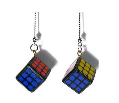 Rubix Cube Earrings ($14)