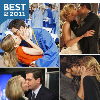 TV Kissing Pictures of 2011