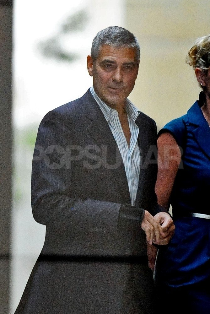 George Clooney swung by a casino in Australia.