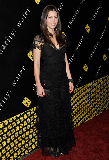 Jessica Biel Goes Glam in Valentino For Charity: Ball