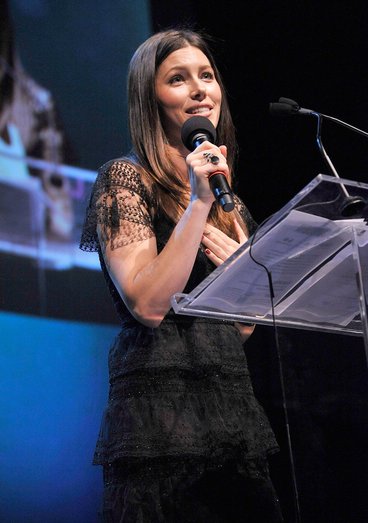 Jessica Biel hosted the 2011 Charity: Ball for Charity: Water.