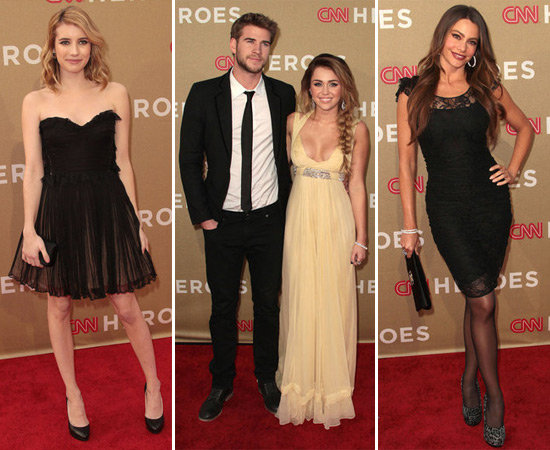 Emma, Miley, Sofia and More Show Their Support at CNN's Heroes Tribute