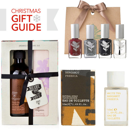 Natural and Organic Beauty Christmas Gift Ideas
