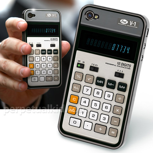 Retro Calculator Case ($12)