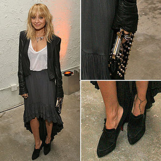 Nicole Richie Wearing House of Harlow Dec. 14, 2011