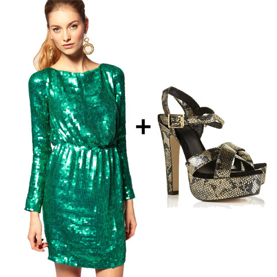 How to Wear Colored Sequins This Holiday Season