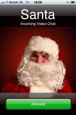 Santa&#039;s Video Chat ($1)