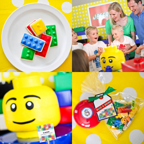 A LEGO-Themed Birthday Party
