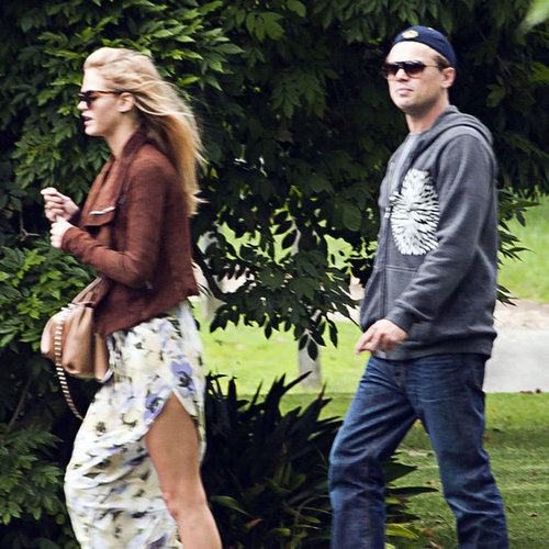Leonardo DiCaprio & Girlfriend Erin Heatherton in Australia