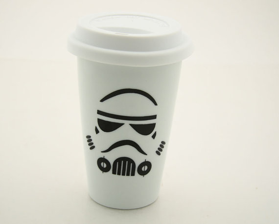 Storm Trooper Travel Mug ($20)