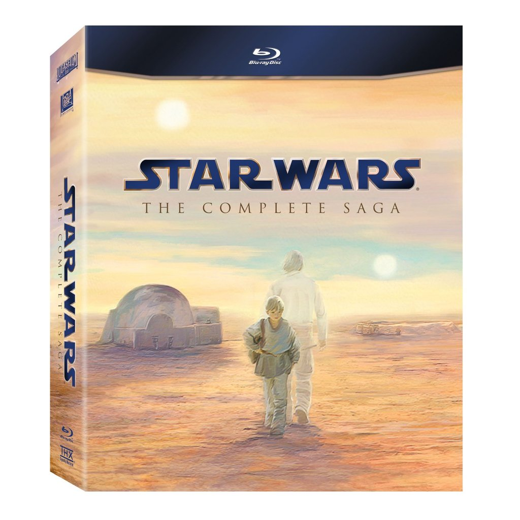 Star Wars: The Complete Saga ($80)