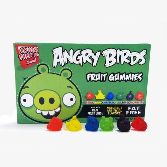 Angry Birds Fruit Gummies ($4)
