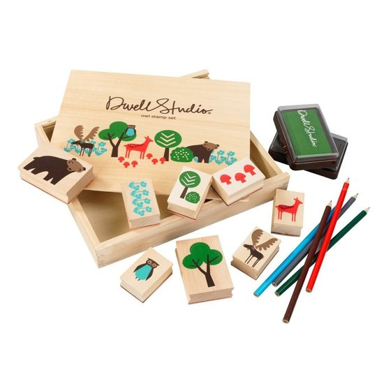 DwellStudio Stamp Set  ($24)