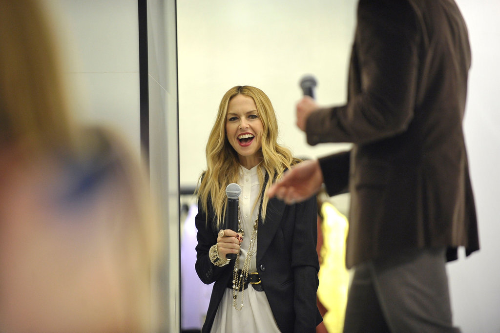 Rachel Zoe was so happy to see her fans in San Diego.