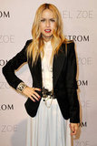 Rachel Zoe took photos at the step and repeat in San Diego.