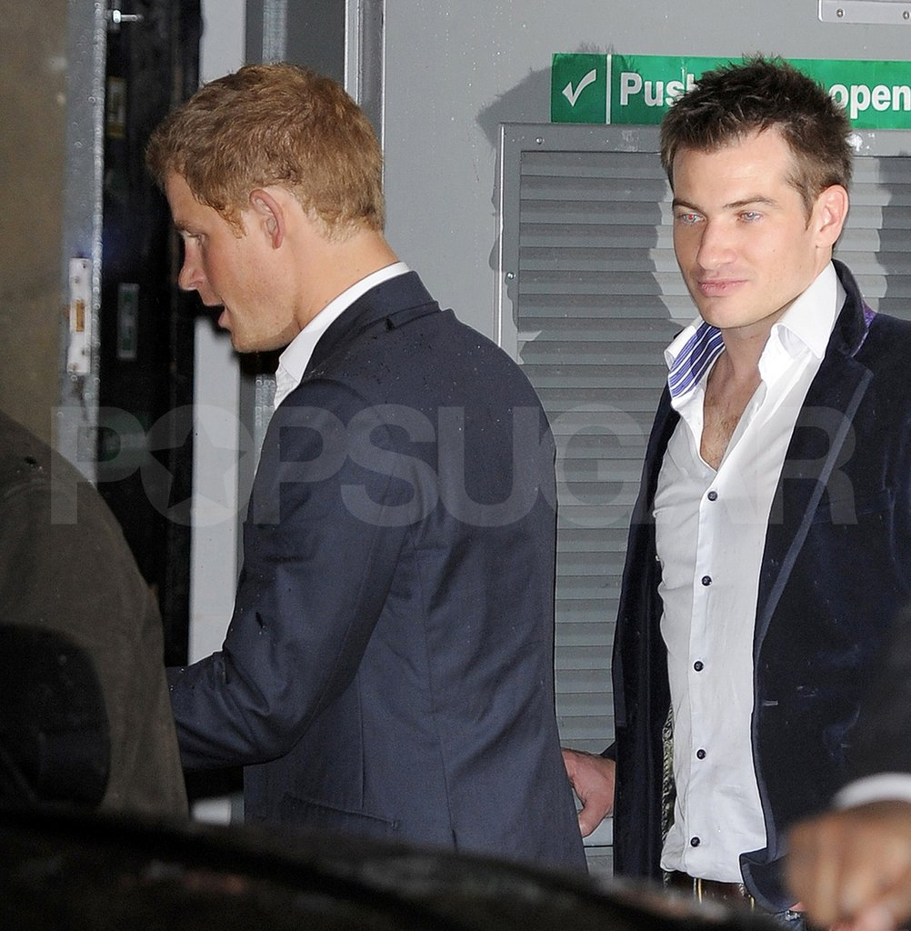 Prince Harry and a friend partied in London.