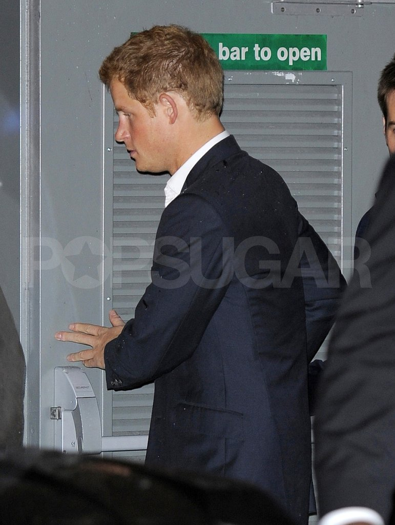 Prince Harry had a night of clubbing.