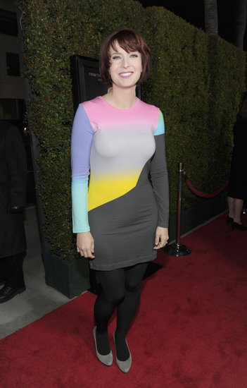 Diablo Cody was happy to premiere her new film in LA.