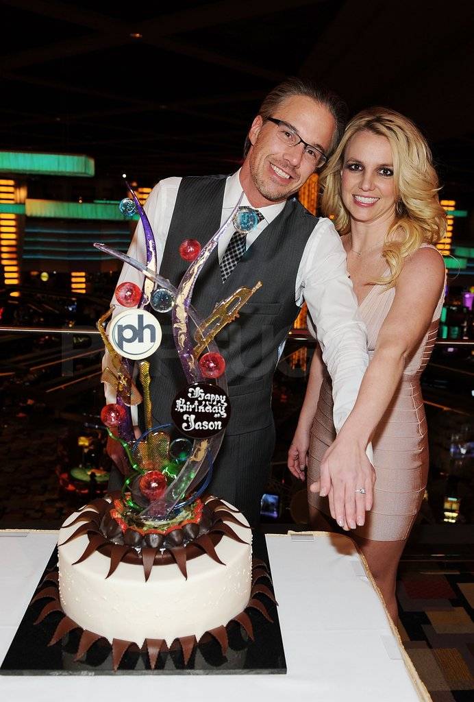 Jason and Britney celebrated his 40th birthday.