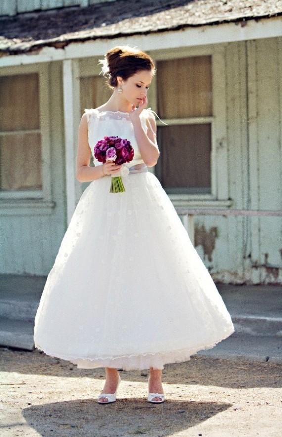 knee length wedding dresses | 2013 Shoes Wedding
