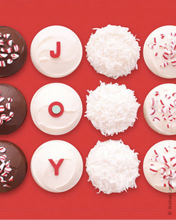 Sprinkles Holiday Cupcakes