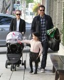 Jessica Alba and Cash Warren with Honor and Haven in LA.