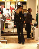 Rachel Zoe shopping in LA.