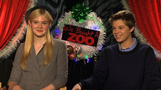 Elle Fanning and Her We Bought a Zoo Love Interest Colin Ford Talk Awkward Flirtation and Matt Damon's Big Fear