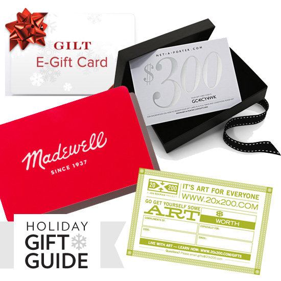 Best Gift Cards For Holiday 2011
