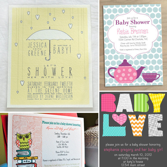Beautiful Baby Shower Invitations This weekend, Reality TV stars collided outside of the city in Atlantic City ...