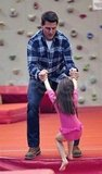 Tom Cruise and Suri Cruise played together.