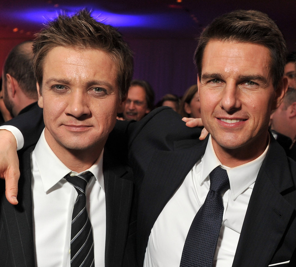 Tom Cruise and Jeremy Renner celebrated the NYC premiere of Mission: Impossible – Ghost Protocol.