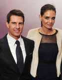 Tom Cruise and Katie Holmes hit the afterparty for Mission: Impossible — Ghost Protocol.
