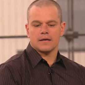 Video: Matt Damon Explains His Gray Hair
