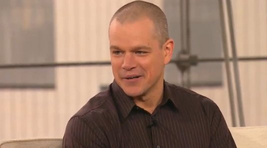 Matt Damon Explains Why His Kids Cause Gray Hair