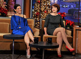 Diablo Cody made Sandra Bullock laugh out loud on a late-night talk show.