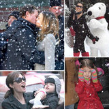 Let It Snow — See Hollywood's Hottest Celebrities in Chilly Winter Wonderlands