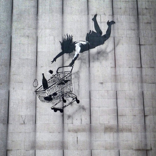 New Banksy in Mayfair
